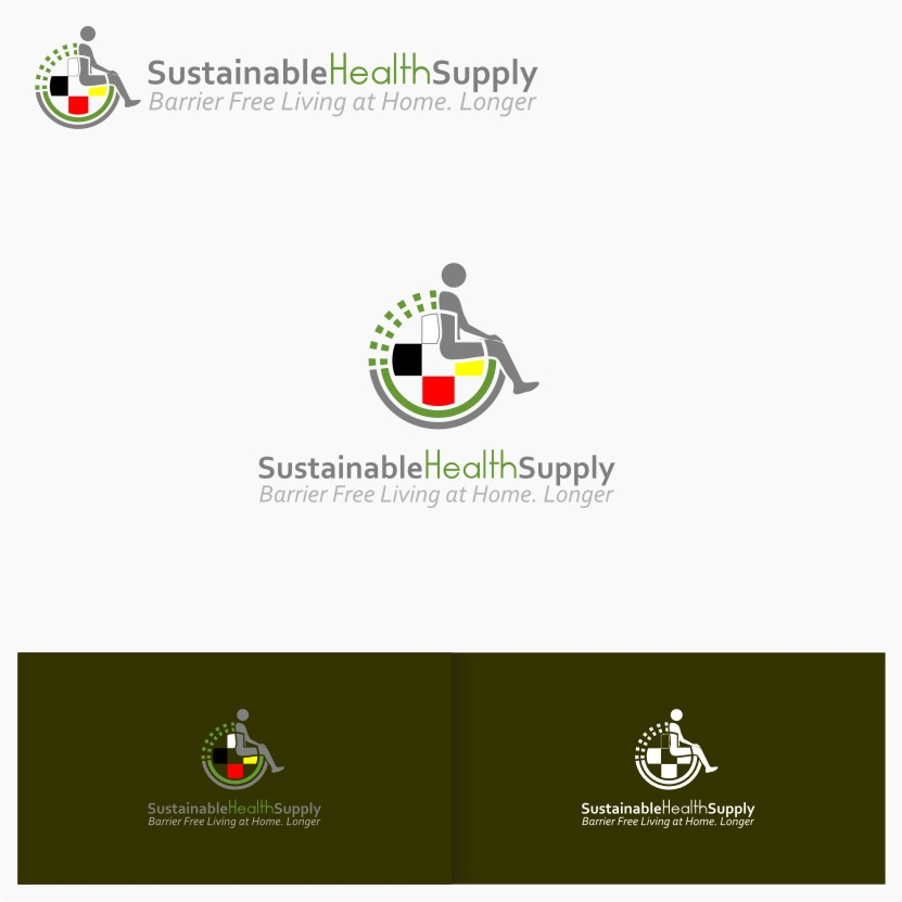 Logo Design by graphicleaf - Entry No. 27 in the Logo Design Contest Logo Design Needed for Exciting New Company Sustainable Health Supply.