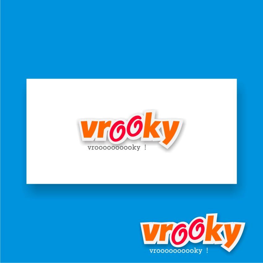 Logo Design by graphicleaf - Entry No. 28 in the Logo Design Contest New Logo Design for Vrooky.