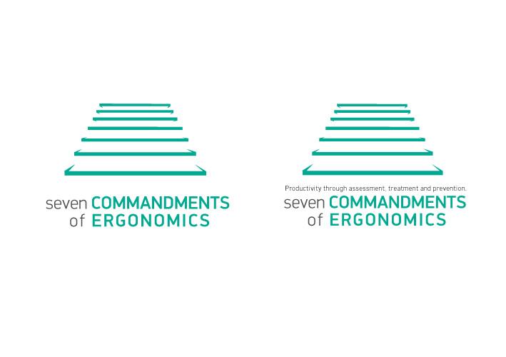 Logo Design by Niki_e_Z - Entry No. 146 in the Logo Design Contest Logo Design for Seven Commandments of Ergonomics.