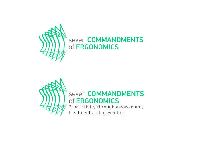 Logo Design by Niki_e_Z - Entry No. 147 in the Logo Design Contest Logo Design for Seven Commandments of Ergonomics.