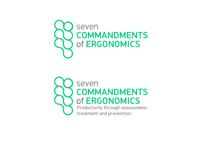 Logo Design by Niki_e_Z - Entry No. 149 in the Logo Design Contest Logo Design for Seven Commandments of Ergonomics.