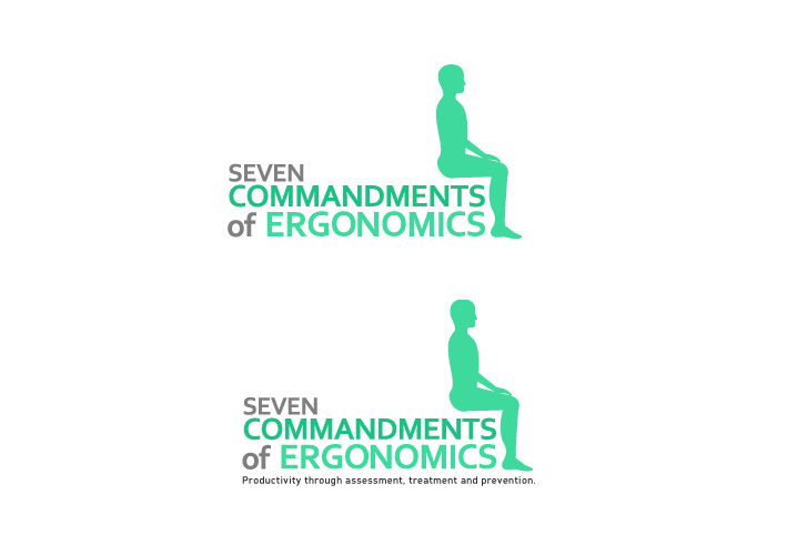 Logo Design by Niki_e_Z - Entry No. 151 in the Logo Design Contest Logo Design for Seven Commandments of Ergonomics.