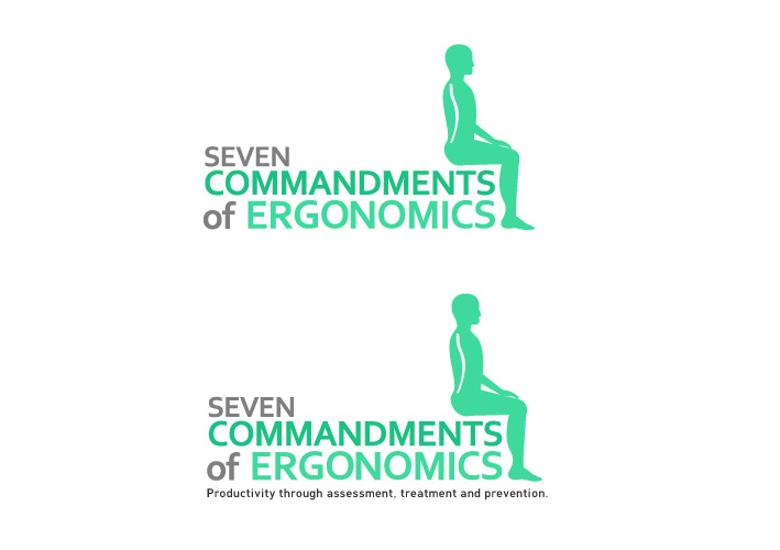 Logo Design by Niki_e_Z - Entry No. 152 in the Logo Design Contest Logo Design for Seven Commandments of Ergonomics.