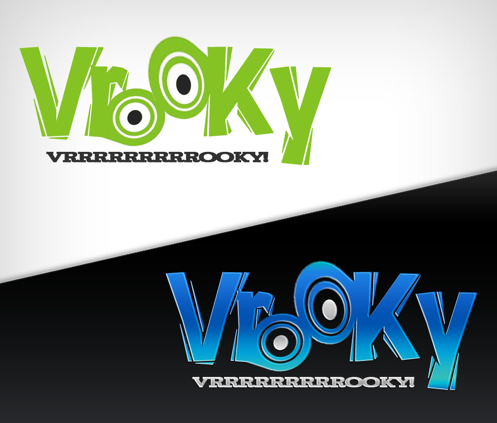 Logo Design by Private User - Entry No. 29 in the Logo Design Contest New Logo Design for Vrooky.
