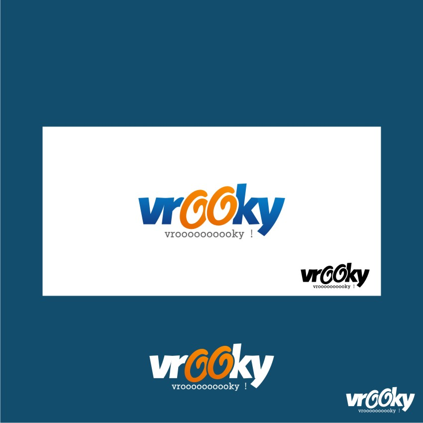 Logo Design by graphicleaf - Entry No. 32 in the Logo Design Contest New Logo Design for Vrooky.