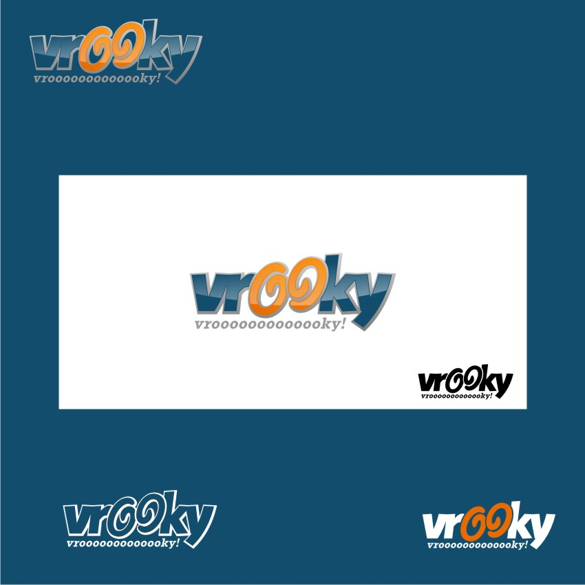 Logo Design by graphicleaf - Entry No. 36 in the Logo Design Contest New Logo Design for Vrooky.