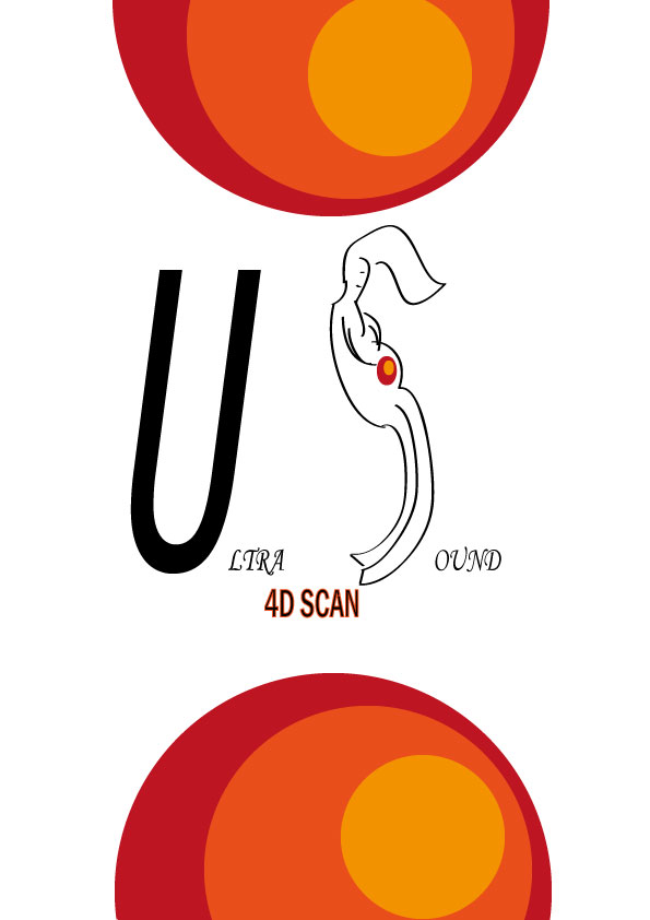 Logo Design by siaanast - Entry No. 13 in the Logo Design Contest Ultrasound Scan 4D Logo Design.