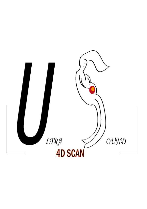 Logo Design by siaanast - Entry No. 14 in the Logo Design Contest Ultrasound Scan 4D Logo Design.