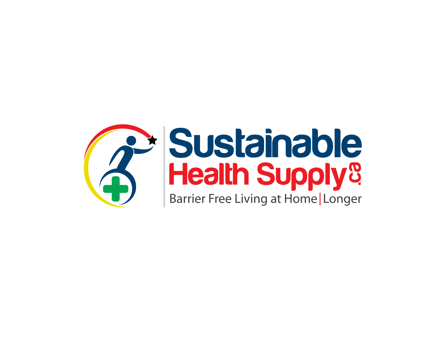 Logo Design by Private User - Entry No. 30 in the Logo Design Contest Logo Design Needed for Exciting New Company Sustainable Health Supply.