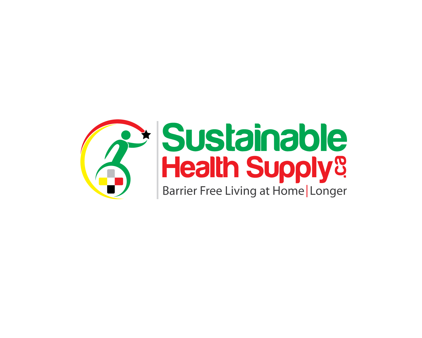 Logo Design by Private User - Entry No. 32 in the Logo Design Contest Logo Design Needed for Exciting New Company Sustainable Health Supply.