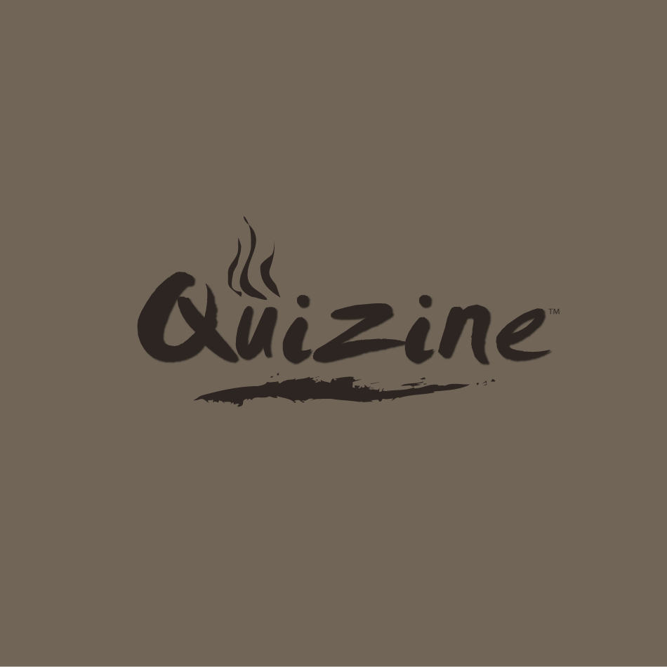 Logo Design by moonflower - Entry No. 82 in the Logo Design Contest Quizine Logo Design.