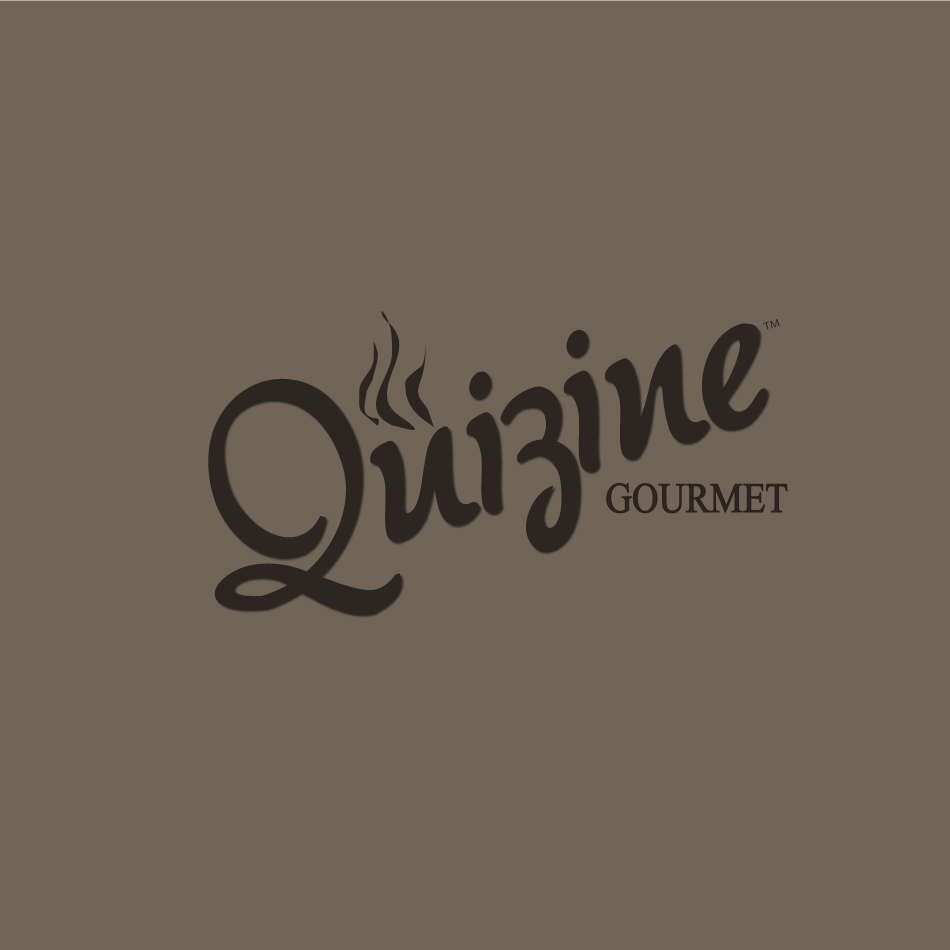 Logo Design by moonflower - Entry No. 83 in the Logo Design Contest Quizine Logo Design.