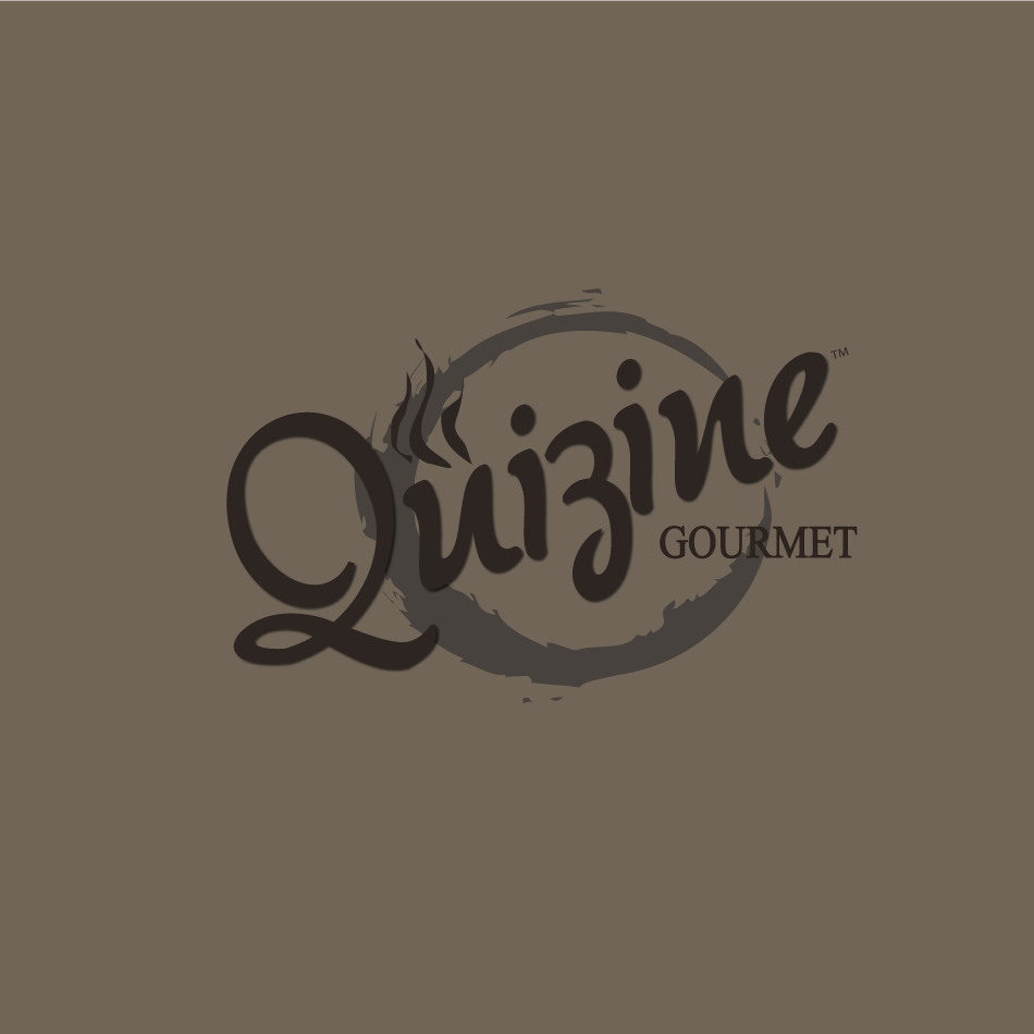 Logo Design by moonflower - Entry No. 84 in the Logo Design Contest Quizine Logo Design.