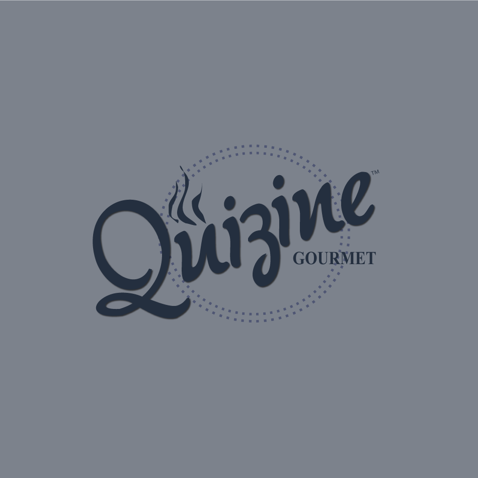 Logo Design by moonflower - Entry No. 85 in the Logo Design Contest Quizine Logo Design.