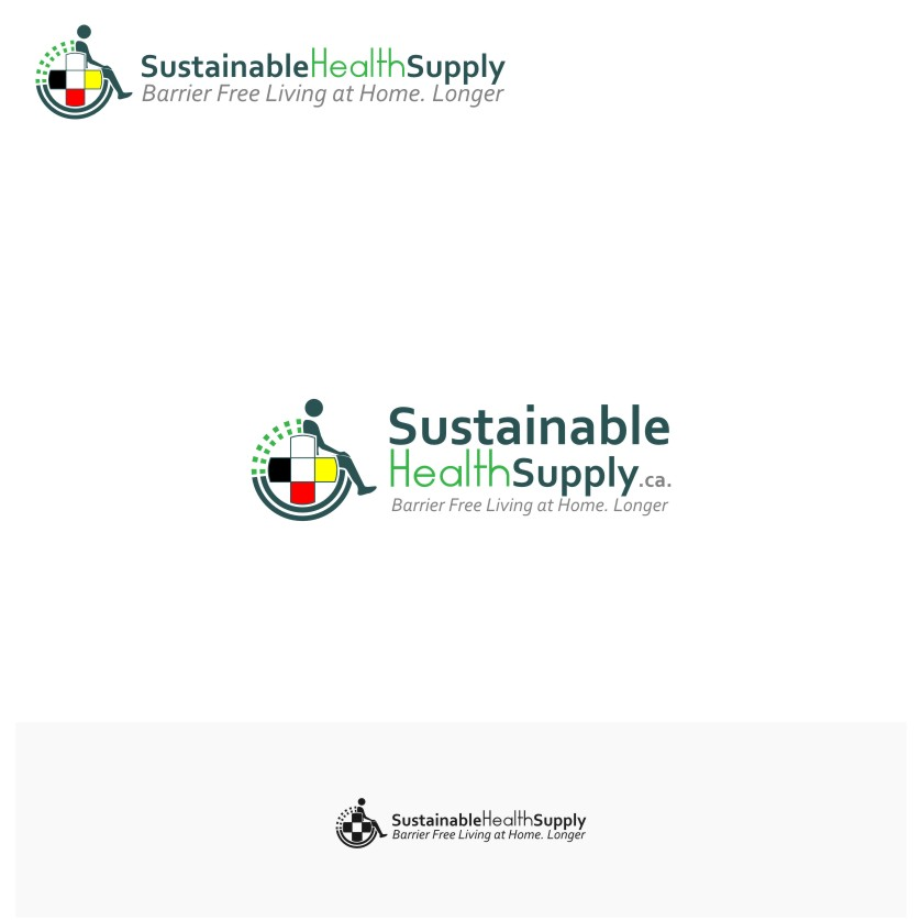 Logo Design by graphicleaf - Entry No. 41 in the Logo Design Contest Logo Design Needed for Exciting New Company Sustainable Health Supply.