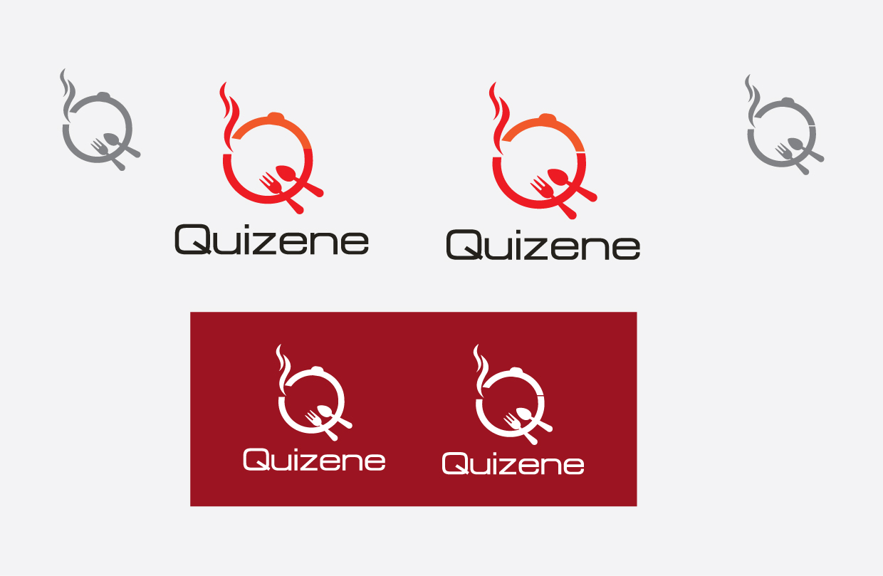 Logo Design by peps - Entry No. 86 in the Logo Design Contest Quizine Logo Design.