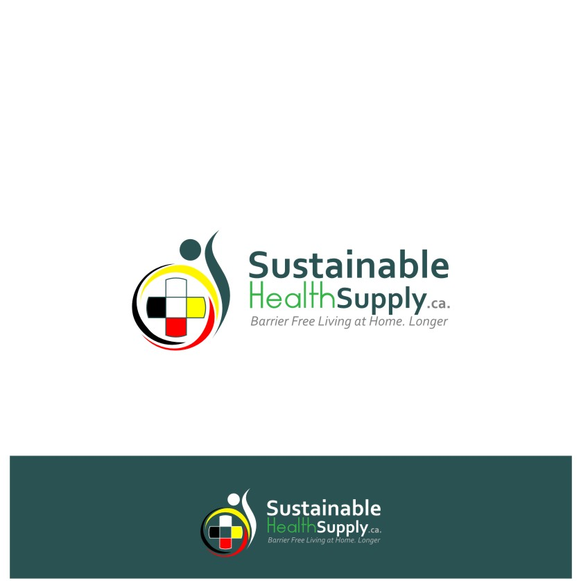Logo Design by graphicleaf - Entry No. 42 in the Logo Design Contest Logo Design Needed for Exciting New Company Sustainable Health Supply.