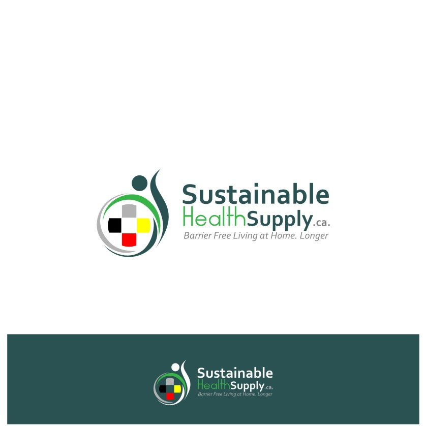 Logo Design by graphicleaf - Entry No. 43 in the Logo Design Contest Logo Design Needed for Exciting New Company Sustainable Health Supply.