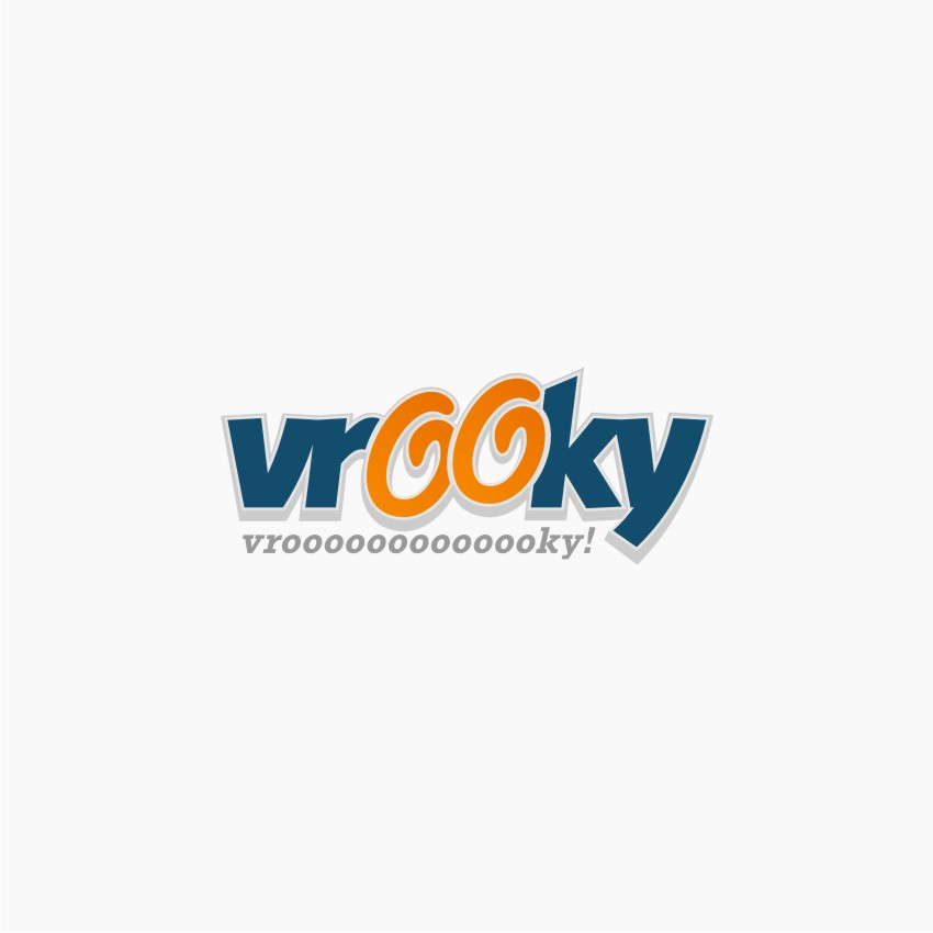 Logo Design by Muhammad Nasrul chasib - Entry No. 49 in the Logo Design Contest New Logo Design for Vrooky.