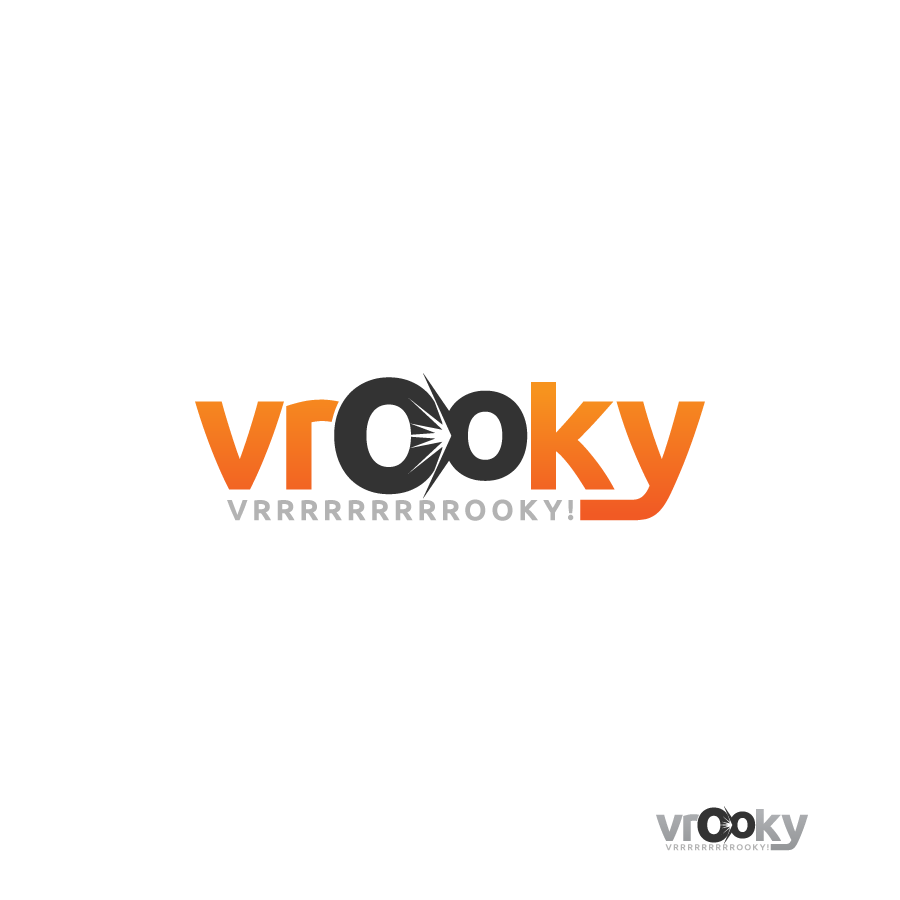 Logo Design by zesthar - Entry No. 64 in the Logo Design Contest New Logo Design for Vrooky.