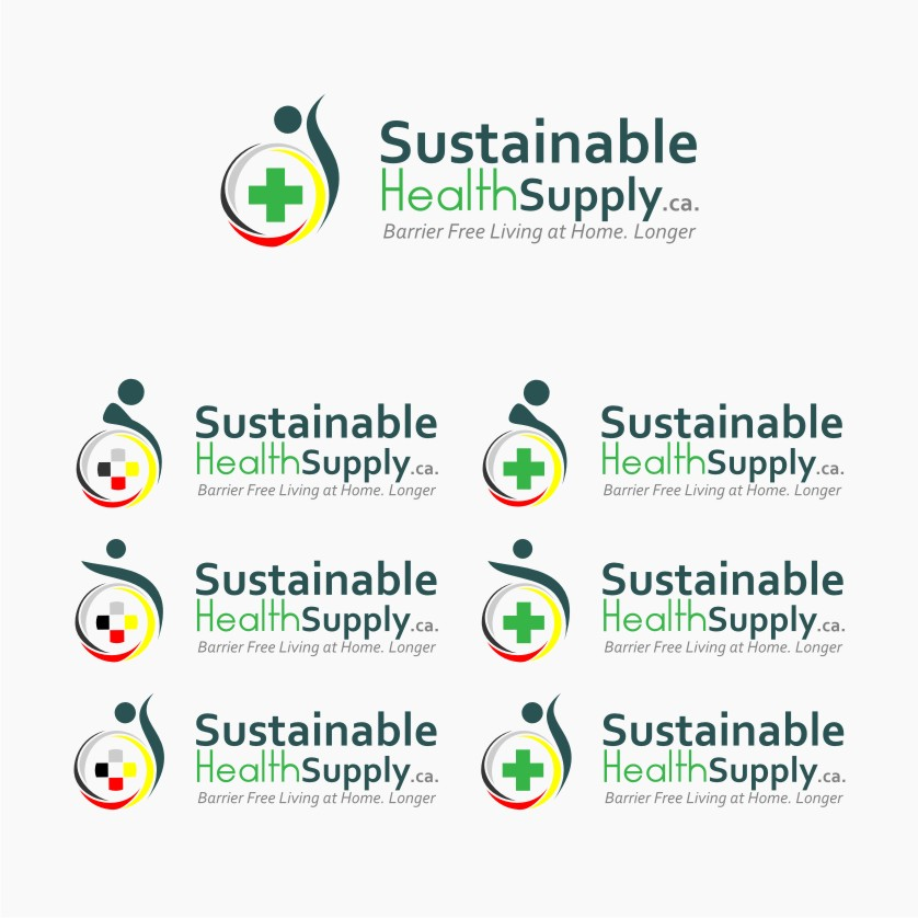 Logo Design by Muhammad Nasrul chasib - Entry No. 46 in the Logo Design Contest Logo Design Needed for Exciting New Company Sustainable Health Supply.