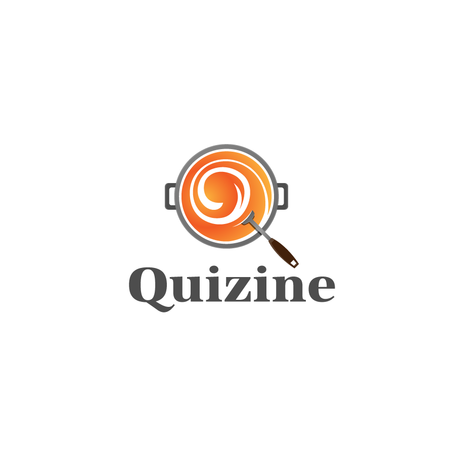 Logo Design by zesthar - Entry No. 95 in the Logo Design Contest Quizine Logo Design.