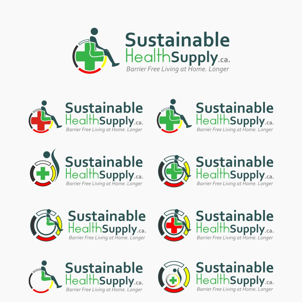 Logo Design by graphicleaf - Entry No. 47 in the Logo Design Contest Logo Design Needed for Exciting New Company Sustainable Health Supply.