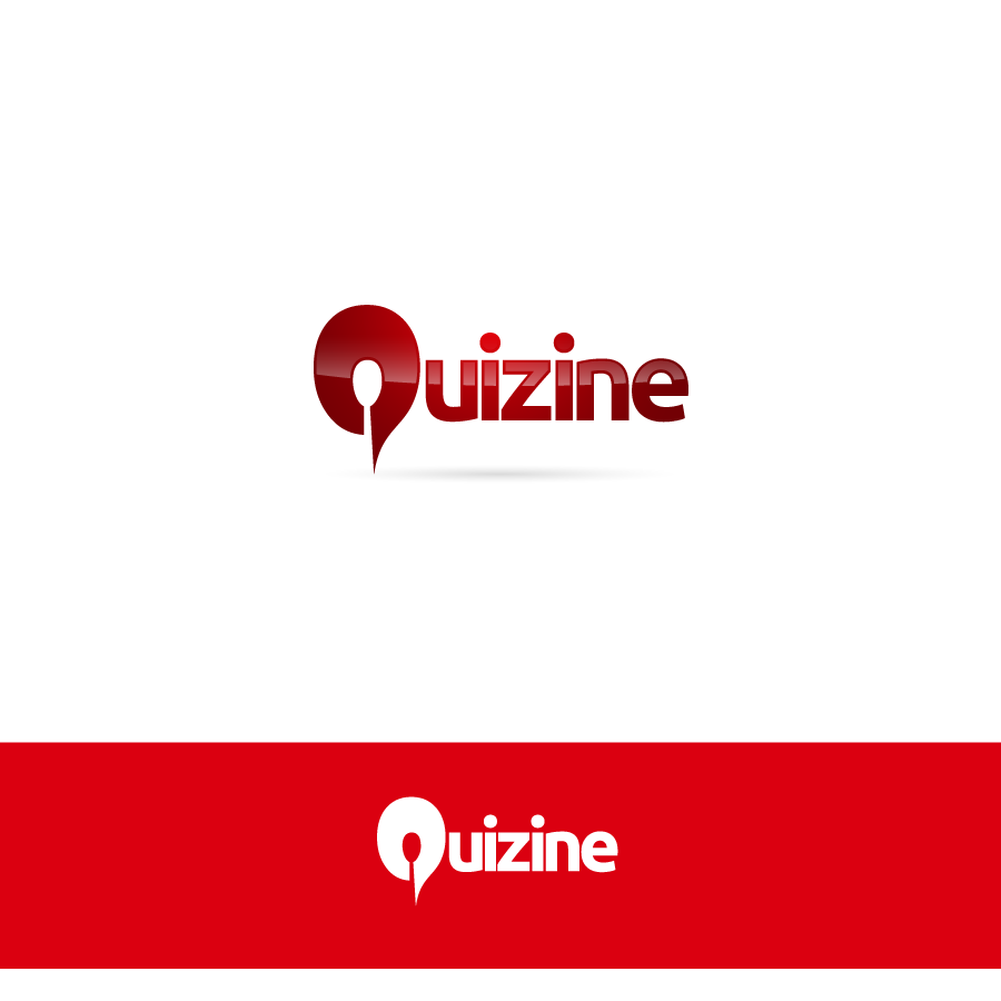 Logo Design by zesthar - Entry No. 97 in the Logo Design Contest Quizine Logo Design.