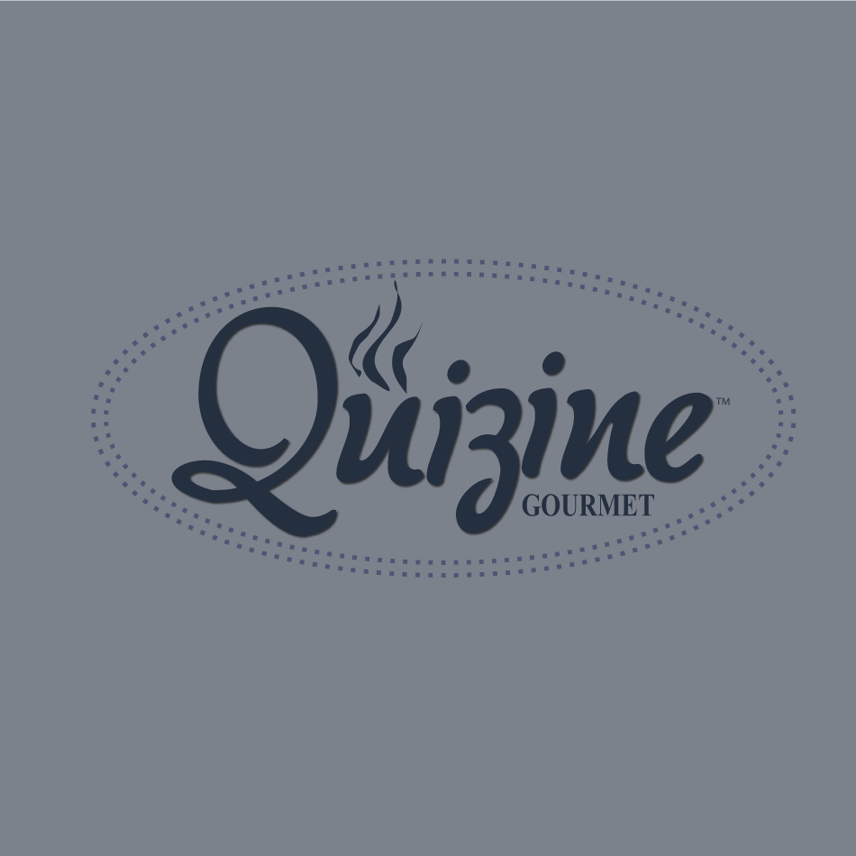 Logo Design by moonflower - Entry No. 104 in the Logo Design Contest Quizine Logo Design.