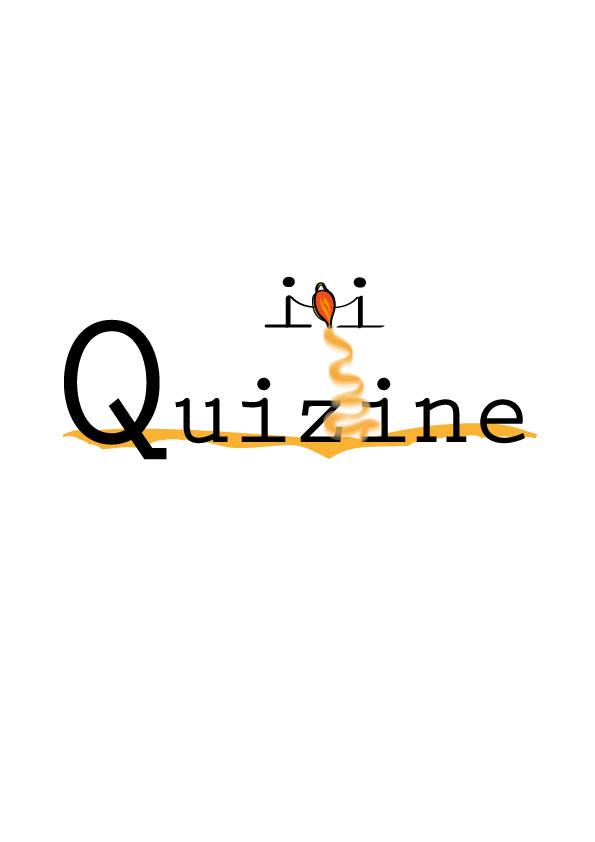 Logo Design by siaanast - Entry No. 106 in the Logo Design Contest Quizine Logo Design.