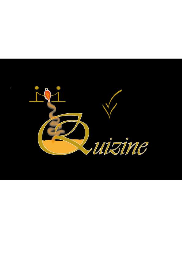 Logo Design by siaanast - Entry No. 109 in the Logo Design Contest Quizine Logo Design.