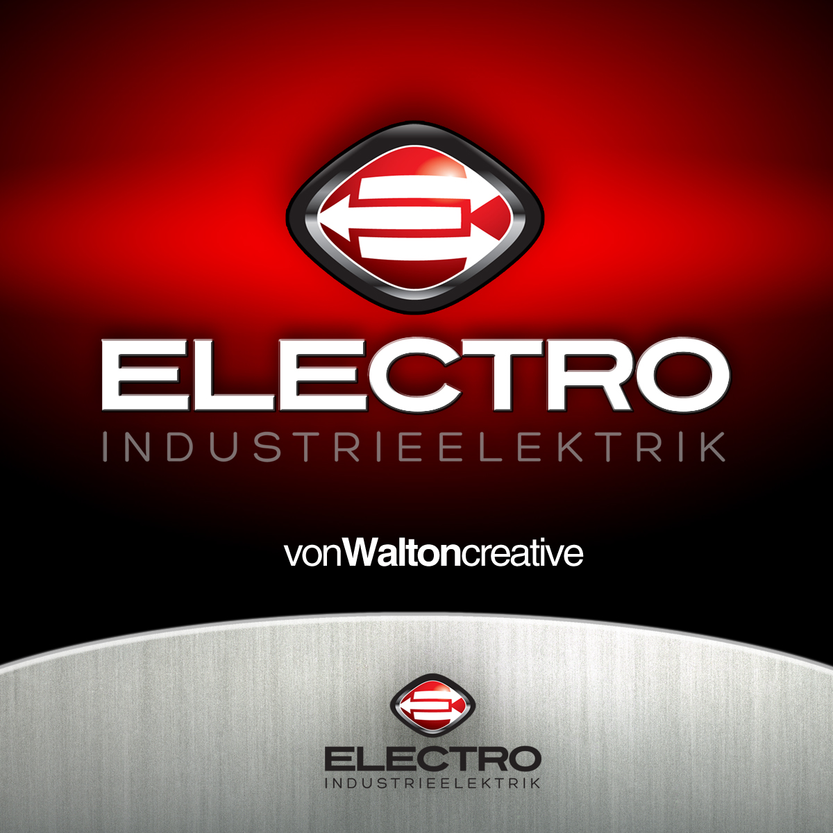 Logo Design by vonwalton - Entry No. 59 in the Logo Design Contest Unique Logo Design Wanted for Electro Industrieelektrik.