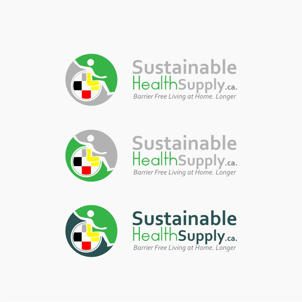 Logo Design by Muhammad Nasrul chasib - Entry No. 51 in the Logo Design Contest Logo Design Needed for Exciting New Company Sustainable Health Supply.