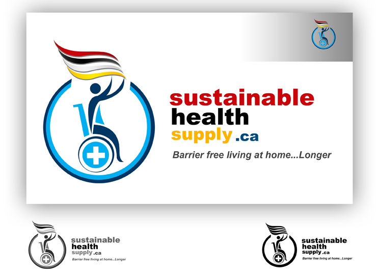 Logo Design by sudip80 - Entry No. 52 in the Logo Design Contest Logo Design Needed for Exciting New Company Sustainable Health Supply.