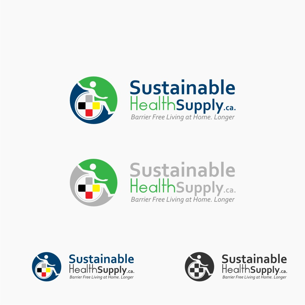 Logo Design by graphicleaf - Entry No. 53 in the Logo Design Contest Logo Design Needed for Exciting New Company Sustainable Health Supply.