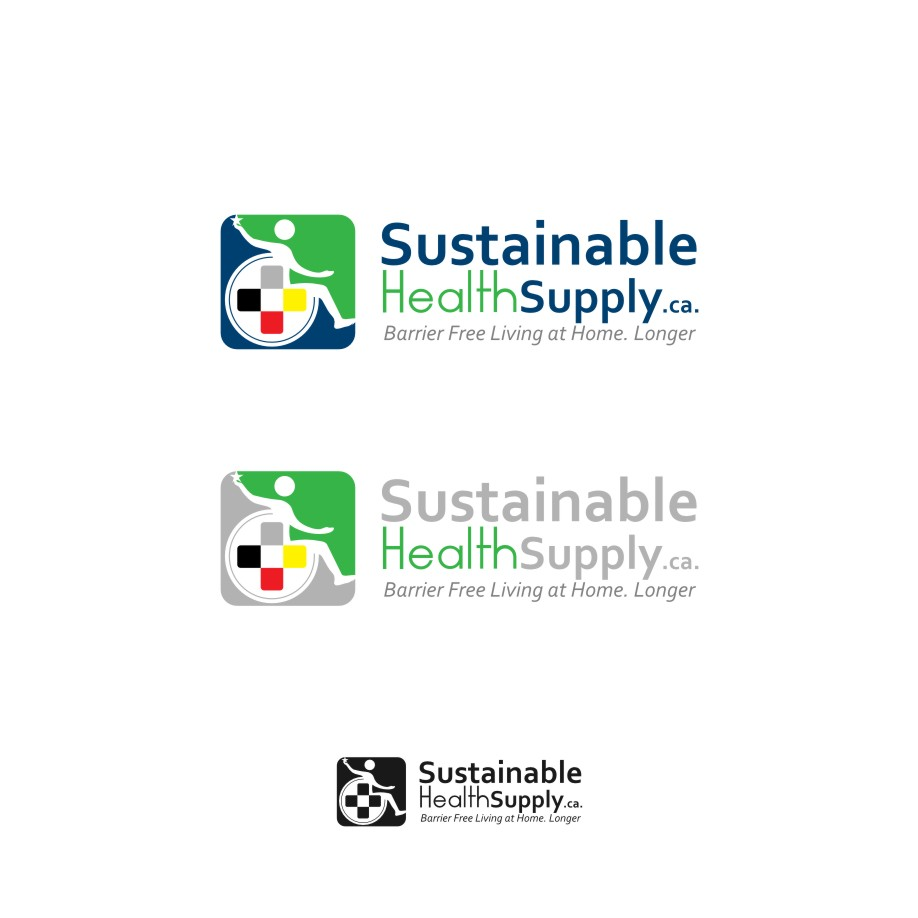 Logo Design by Muhammad Nasrul chasib - Entry No. 55 in the Logo Design Contest Logo Design Needed for Exciting New Company Sustainable Health Supply.