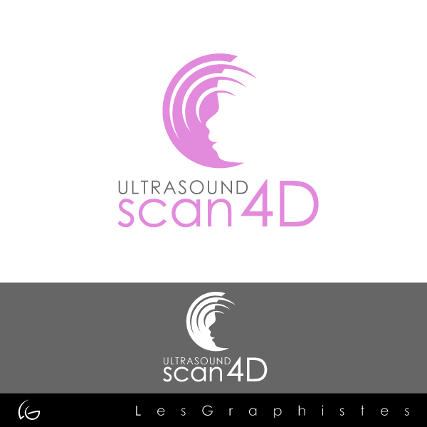 Logo Design by Les-Graphistes - Entry No. 24 in the Logo Design Contest Ultrasound Scan 4D Logo Design.