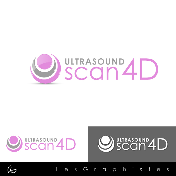 Logo Design by Les-Graphistes - Entry No. 25 in the Logo Design Contest Ultrasound Scan 4D Logo Design.