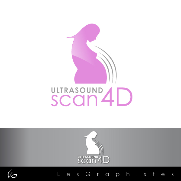 Logo Design by Les-Graphistes - Entry No. 26 in the Logo Design Contest Ultrasound Scan 4D Logo Design.