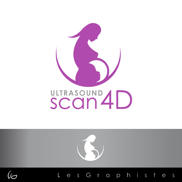 Logo Design by Les-Graphistes - Entry No. 27 in the Logo Design Contest Ultrasound Scan 4D Logo Design.