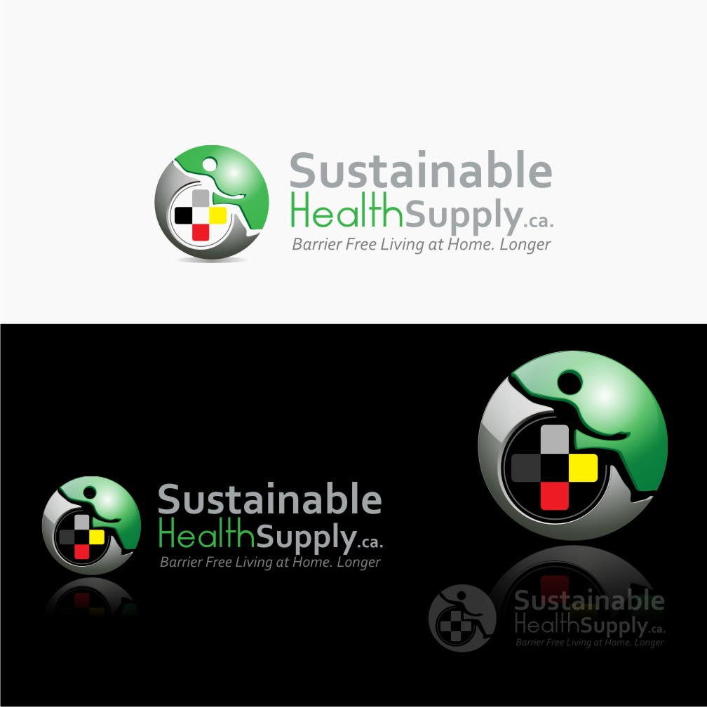 Logo Design by graphicleaf - Entry No. 60 in the Logo Design Contest Logo Design Needed for Exciting New Company Sustainable Health Supply.