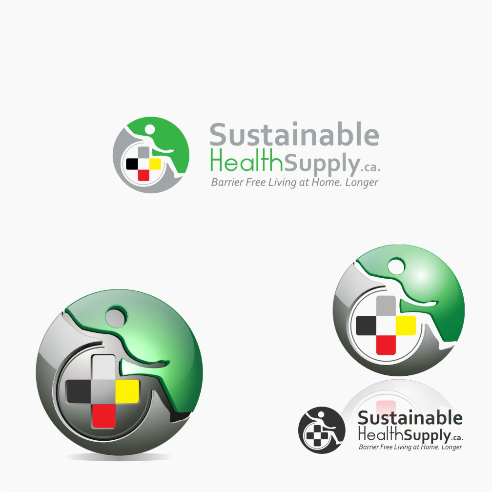 Logo Design by graphicleaf - Entry No. 61 in the Logo Design Contest Logo Design Needed for Exciting New Company Sustainable Health Supply.