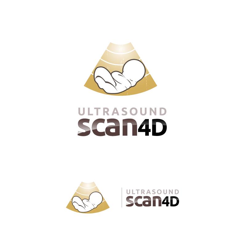 Logo Design by zesthar - Entry No. 55 in the Logo Design Contest Ultrasound Scan 4D Logo Design.