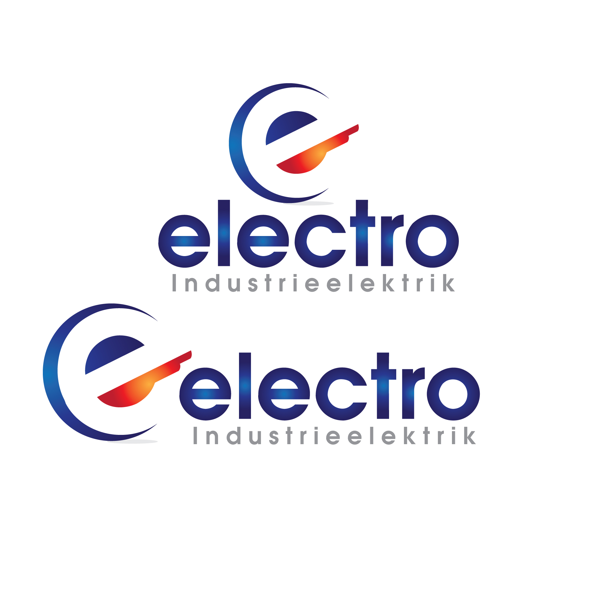 Logo Design by stormbighit - Entry No. 72 in the Logo Design Contest Unique Logo Design Wanted for Electro Industrieelektrik.