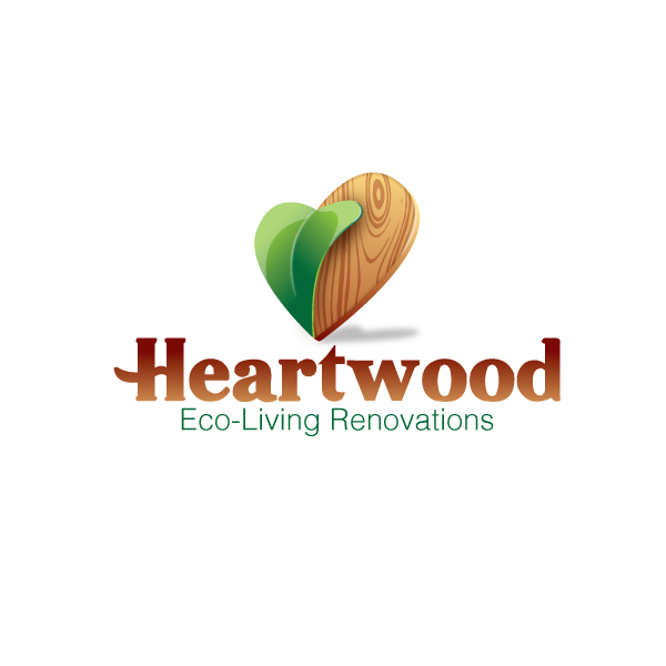 Logo Design by storm - Entry No. 1 in the Logo Design Contest New Logo Design for Heartwood Eco-Living Renovations.