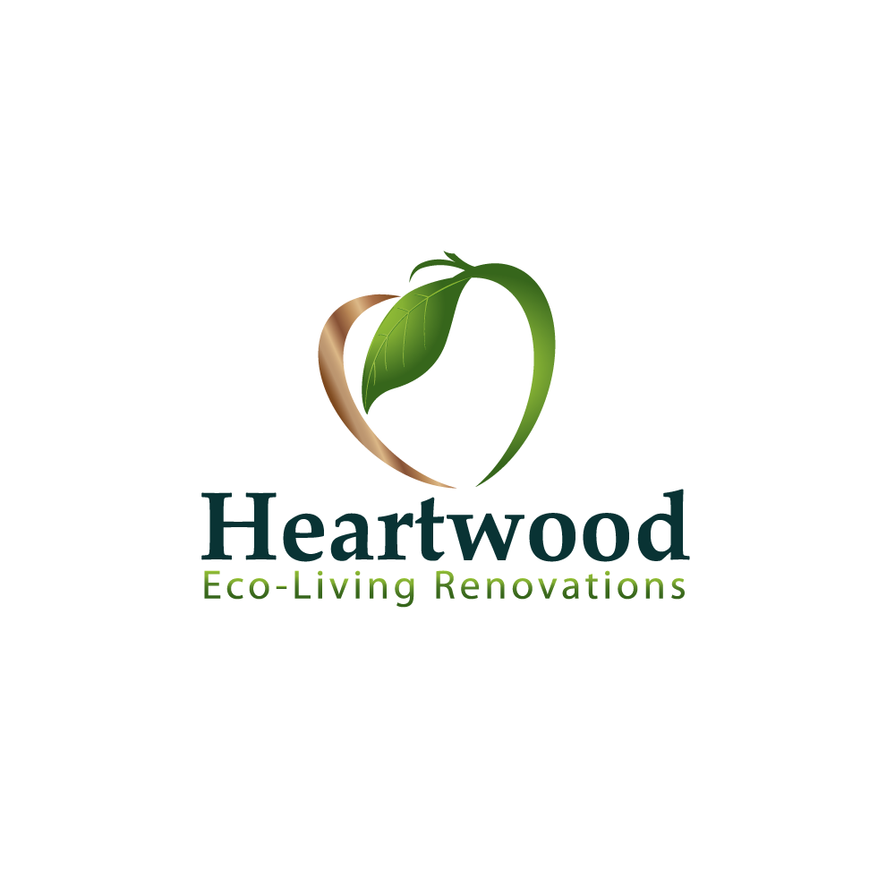 Logo Design by rockin - Entry No. 2 in the Logo Design Contest New Logo Design for Heartwood Eco-Living Renovations.