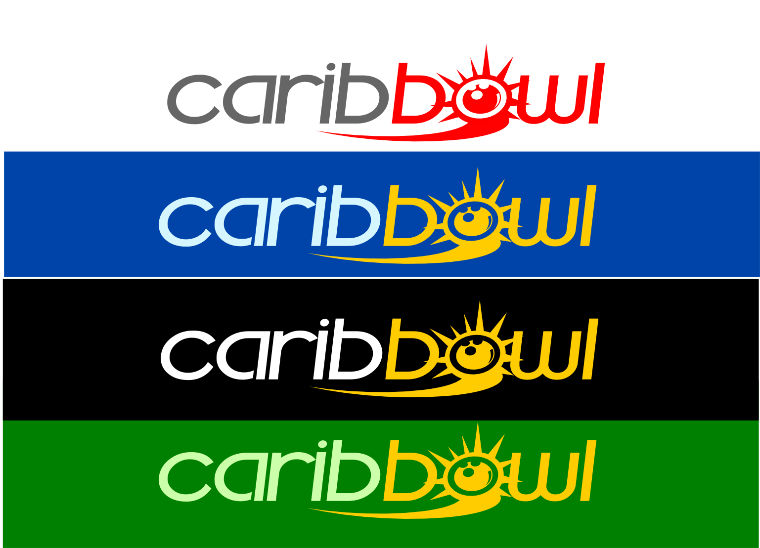 Logo Design by whoosef - Entry No. 41 in the Logo Design Contest Fun Logo Design for Caribbowl.