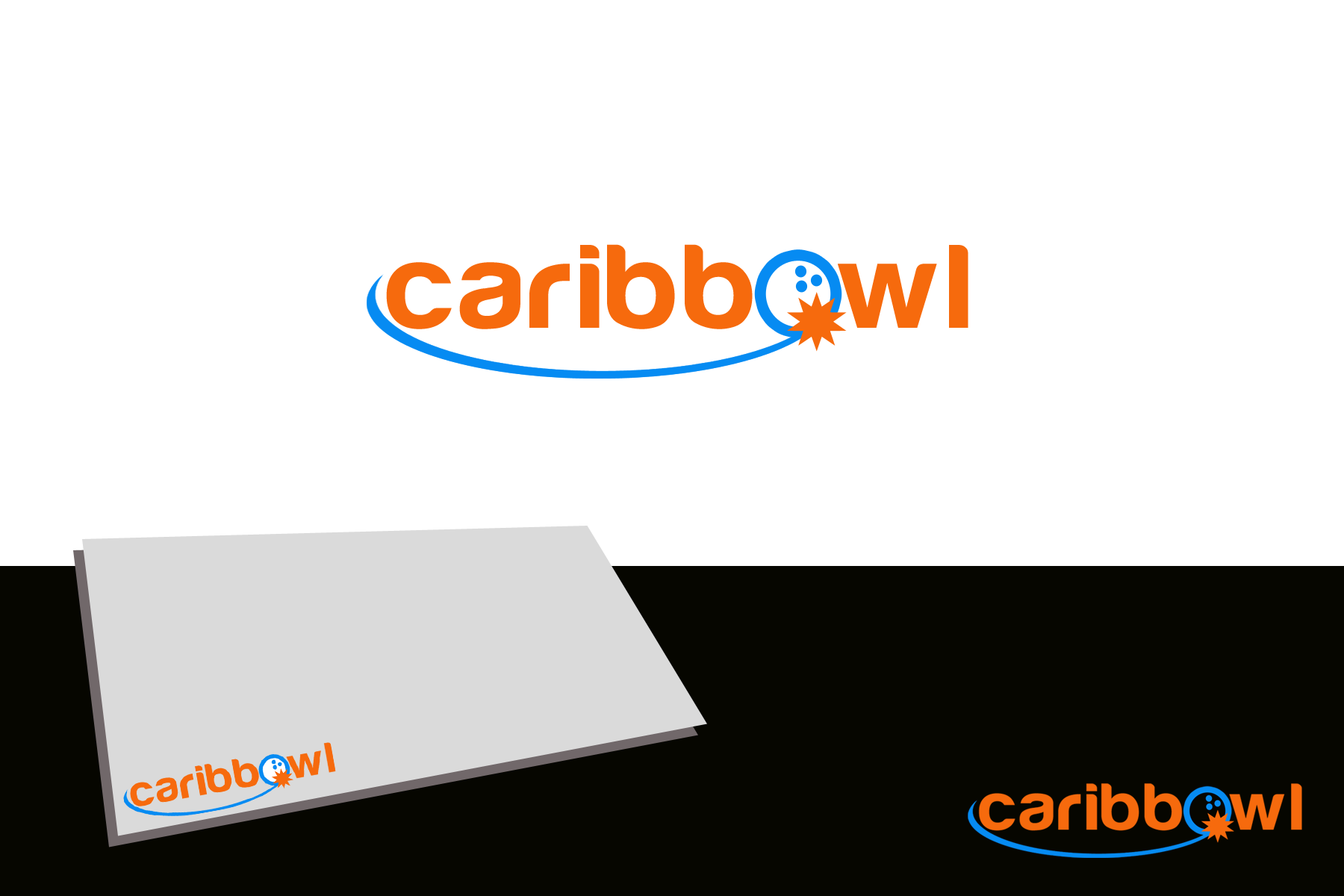 Logo Design by golden-hand - Entry No. 43 in the Logo Design Contest Fun Logo Design for Caribbowl.