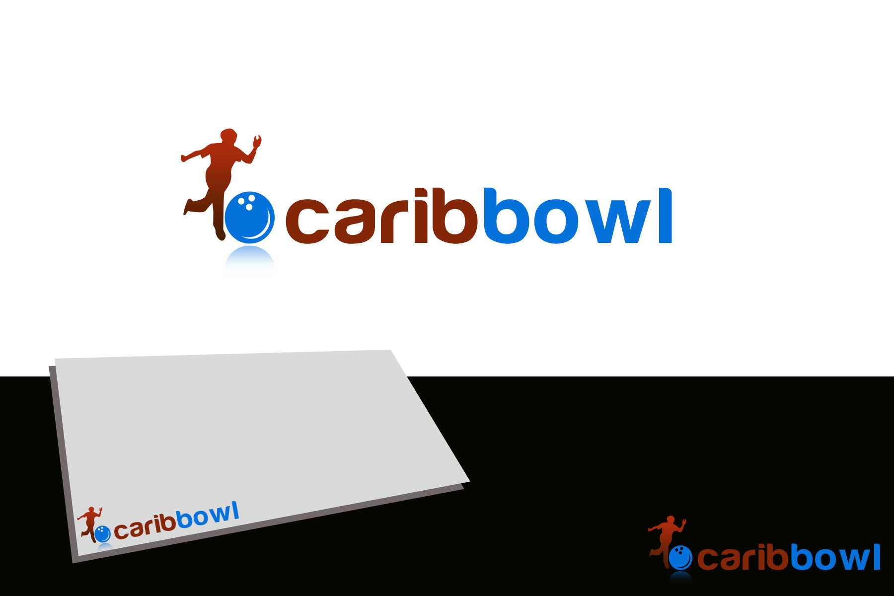 Logo Design by golden-hand - Entry No. 49 in the Logo Design Contest Fun Logo Design for Caribbowl.