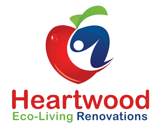 Logo Design by Private User - Entry No. 13 in the Logo Design Contest New Logo Design for Heartwood Eco-Living Renovations.